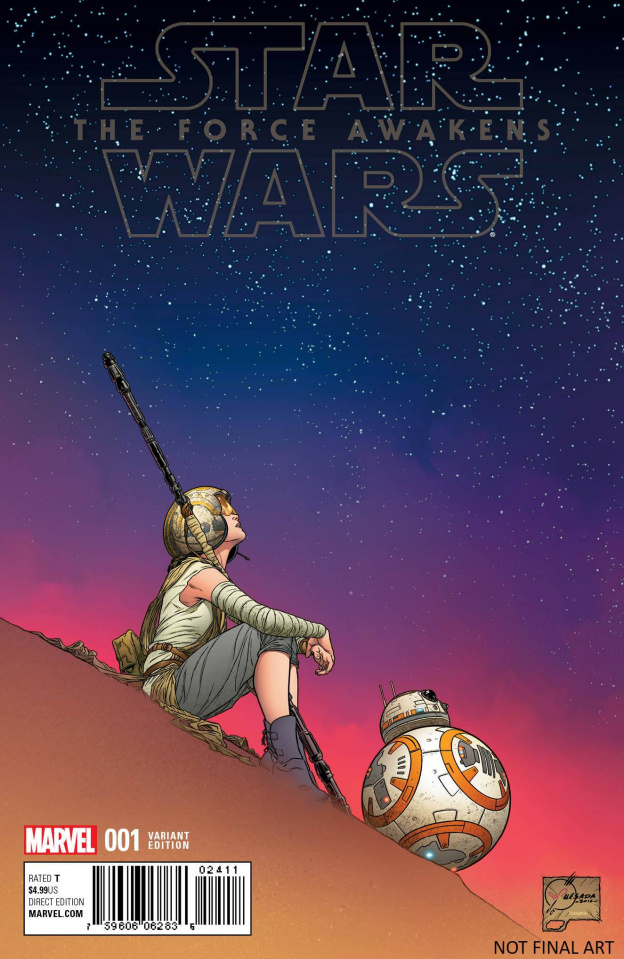 Star Wars: The Force Awakens #1 (Quesada Cover)