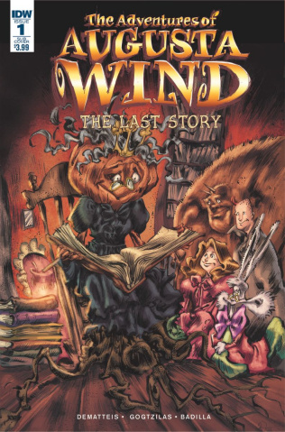 The Adventures of Augusta Wind: The Last Story #1 (Subscription Cover)
