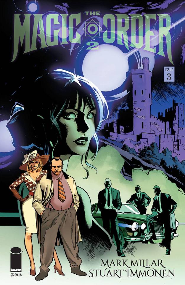 The Magic Order 2 #3 (Immonen Cover)