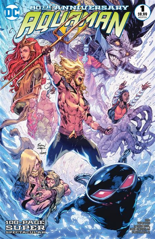 Aquaman: 80th Anniversary 100-Page Super Spectacular #1 (Robson Rocha 2010s Cover)