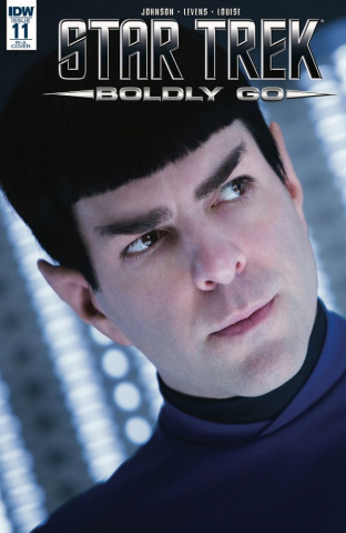 Star Trek: Boldly Go #11 (10 Copy Cover)