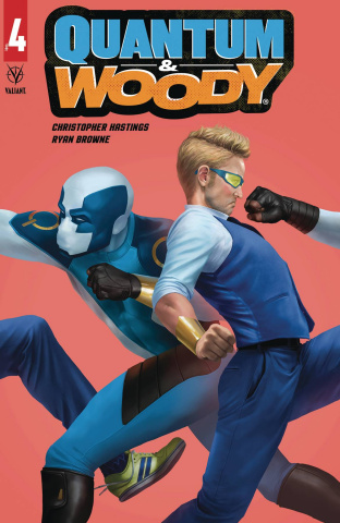 Quantum & Woody #4 (Rahzzah Cover)