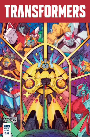 The Transformers Annual 2017 #1