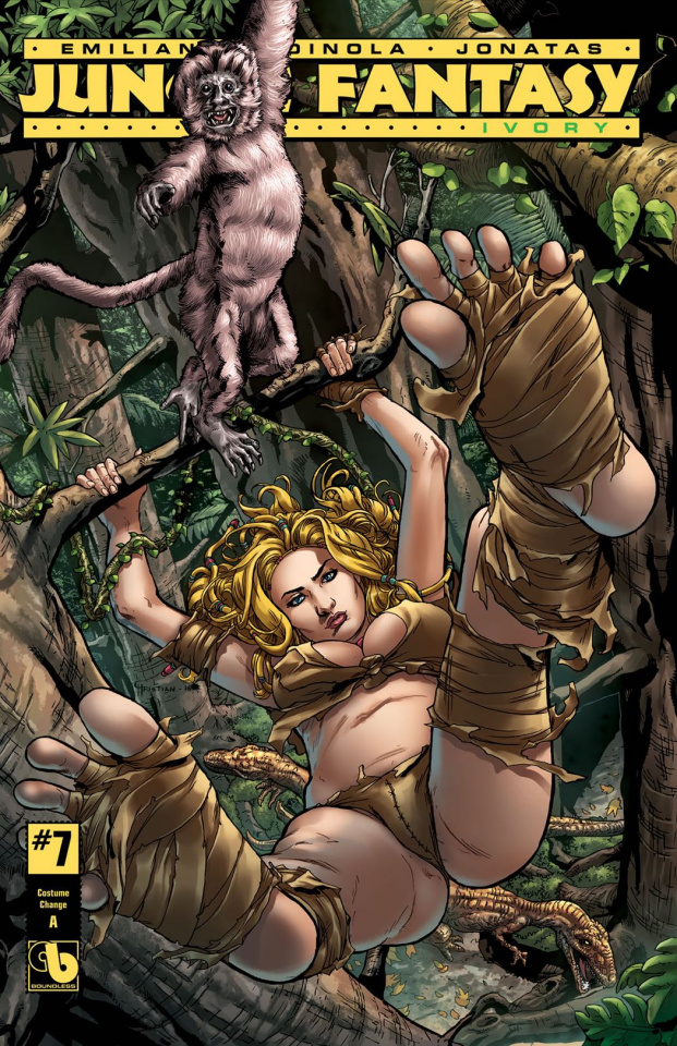 Jungle Fantasy: Ivory #7 (Costume Change Set)