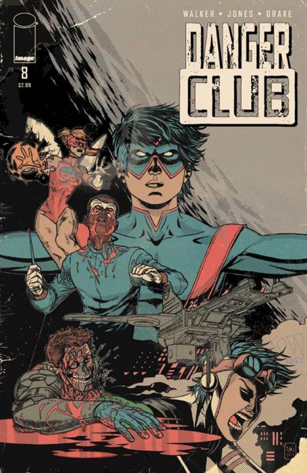 Danger Club #8 (Alternative Ending Cover)