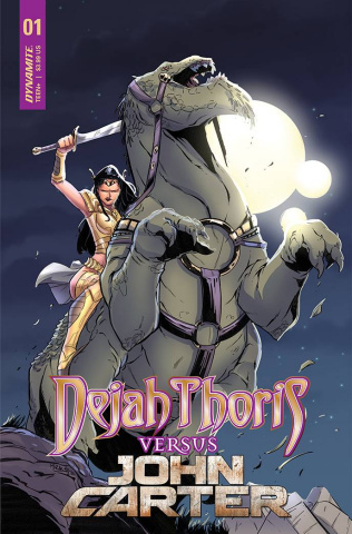 Dejah Thoris vs. John Carter of Mars #1 (Miracolo Cover)