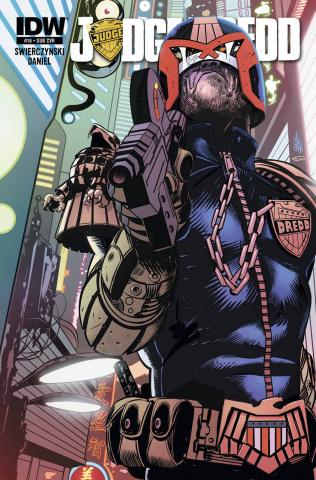 Judge Dredd #16 (Subscription Cover)