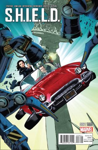 S.H.I.E.L.D. #6 (NYC Cover)