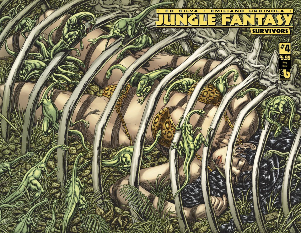 Jungle Fantasy: Survivors #4 (Wrap Cover)