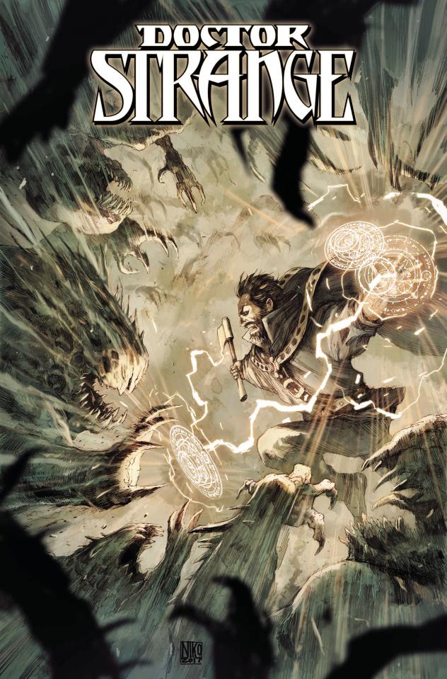 Doctor Strange #22 (Henrichon Cover)