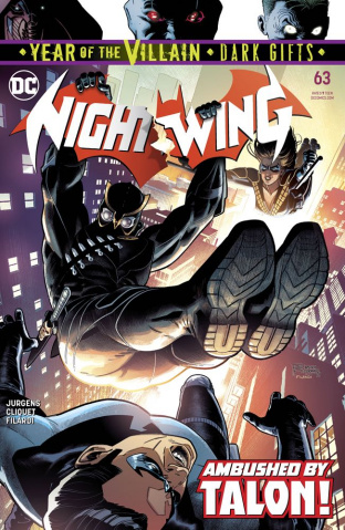 Nightwing #63 (Dark Gifts Cover)