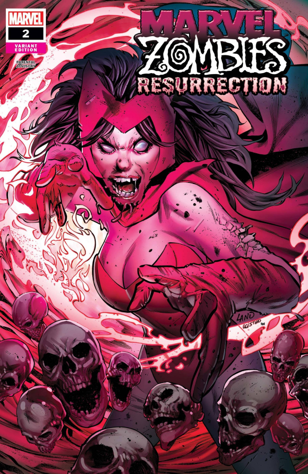 Marvel Zombies: Resurrection #2 (Land Cover)