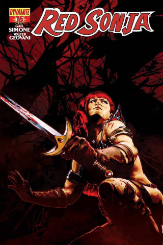 Red Sonja #16 (Staggs Cover)