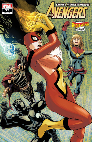 Avengers #32 (McKone Spider-Woman Cover)
