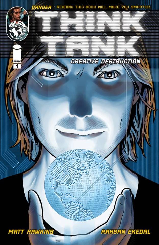 Think Tank: Creative Destruction #1 (Ekedal Cover)