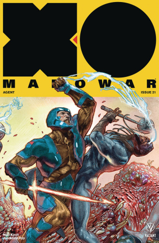 X-O Manowar #21 (20 Copy Interlocking Guede Cover)
