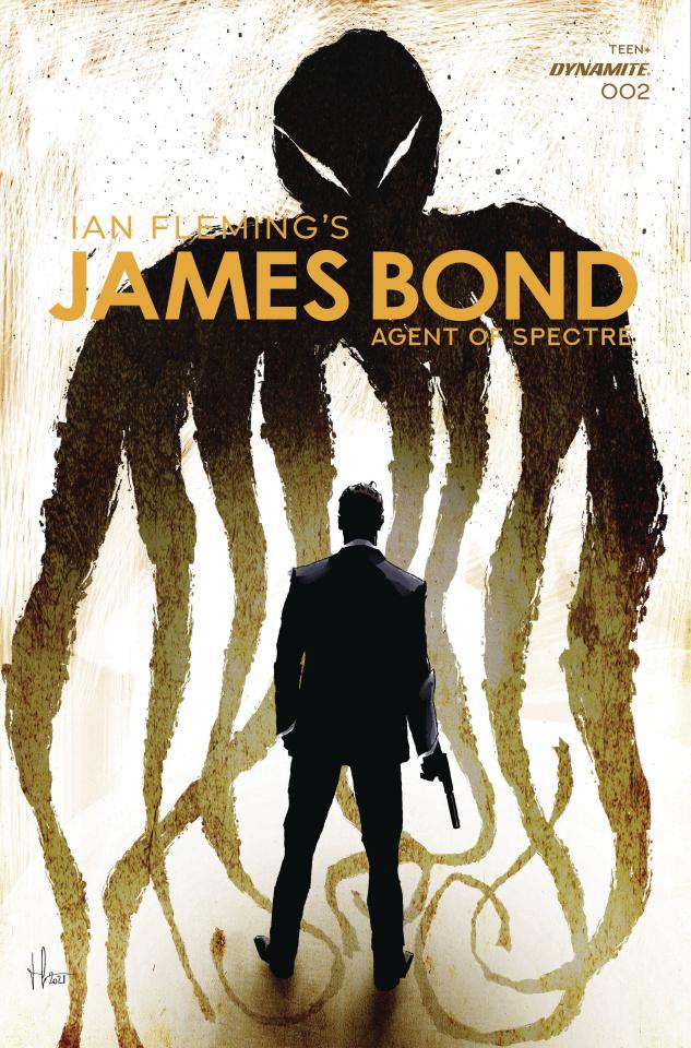 James Bond: Agent of SPECTRE #2 (Premium Casalanguida Cover)