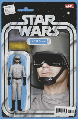 Star Wars #68 (Christopher Action Figure Cover)
