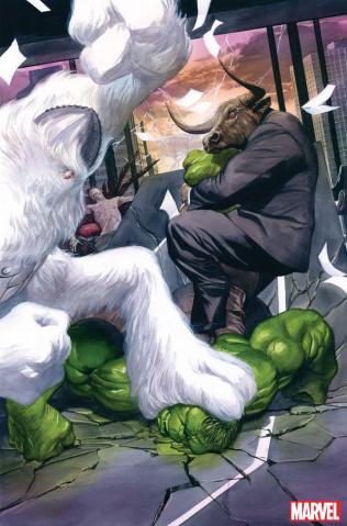 The Immortal Hulk #33 (Alex Ross Virgin Cover)