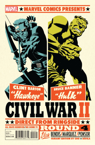 Civil War II #4 (Micheal Cho Cover)