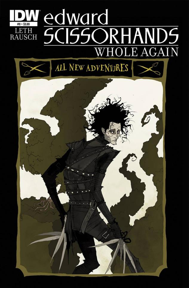 Edward Scissorhands #9 (Whole Again Cover)