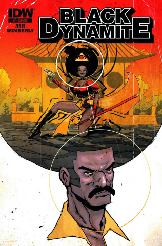 Black Dynamite #3 (Subscription Cover)