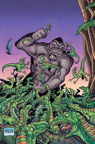 Kong of Skull Island #2 (10 Copy Sakai Cover)