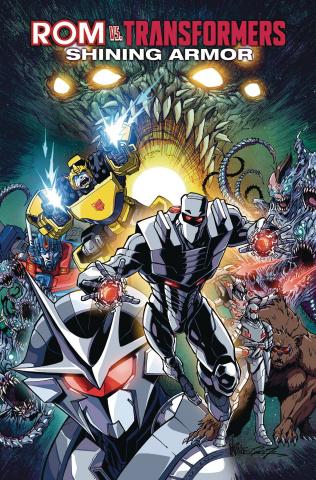 ROM vs. The Transformers: Shining Armor