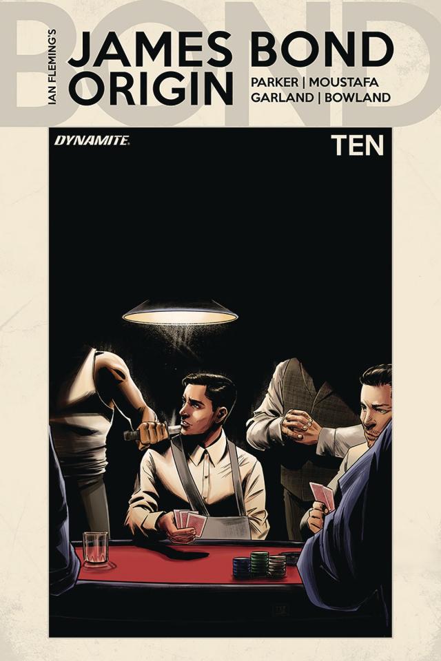 James Bond: Origin #10 (Moustafa Cover)
