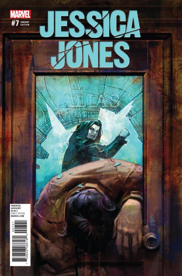 Jessica Jones #7 (Klein Cover)