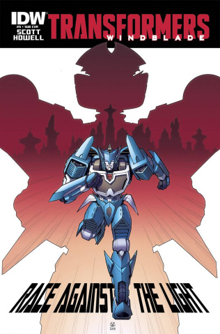 The Transformers: Windblade #5 (Subscription Cover)