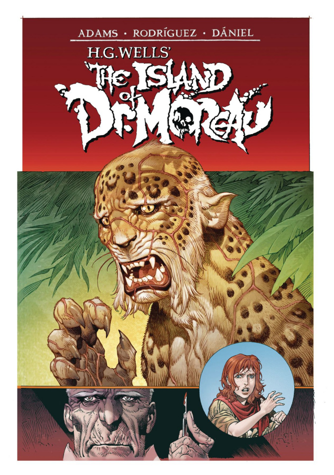 The Island of Dr. Moreau #1 (Rodriguez Cover)