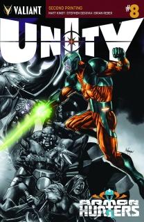 Unity #8 (2nd Printing)
