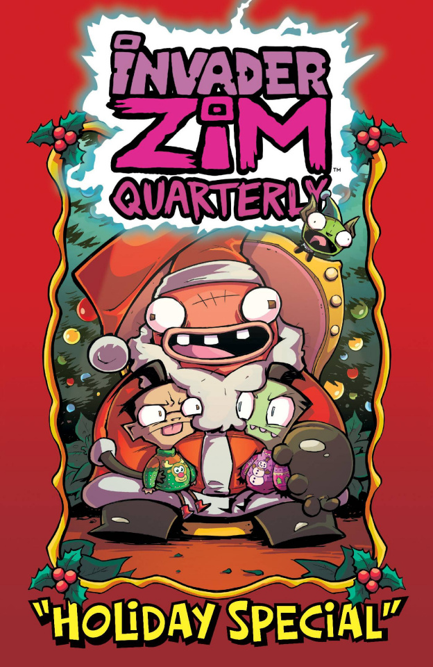 Invader Zim Quarterly Holiday Special #1 (Alexovich Cover)