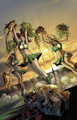 Zombies vs. Cheerleaders: 2015 St. Patty's Day #1 (Qualano Cover)