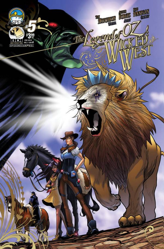 The Legend of Oz: The Wicked West #5 (Borges Cover)