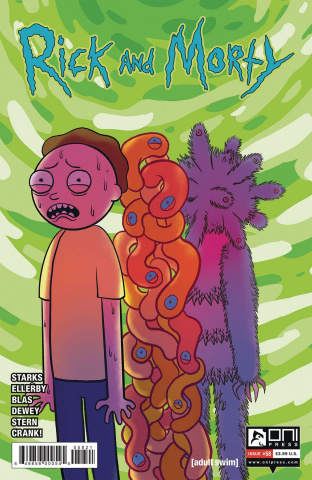 Rick and Morty #58 (Spano Cover)