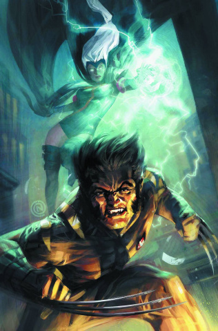 FF #8 (Nauck Wolverine Costume Cover)