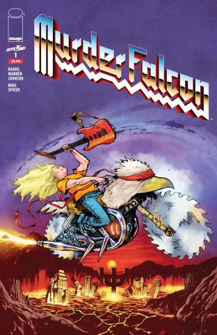 Murder Falcon #1 (Heavy Metal Cover)