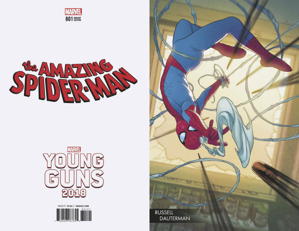 The Amazing Spider-Man #801 (Dauterman Young Guns Cover)