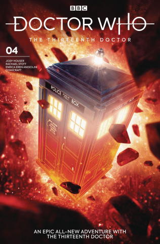 Doctor Who: The Thirteenth Doctor #4 (Brooks Cover)