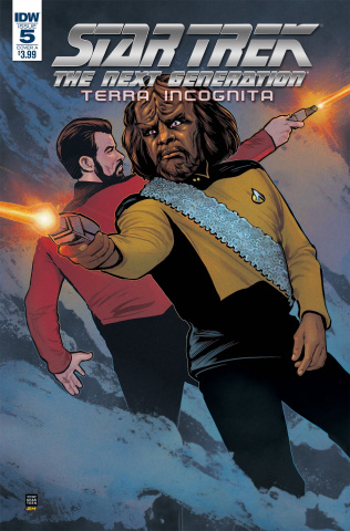 Star Trek: The Next Generation - Terra Incognita #5 (Shasteen Cover)