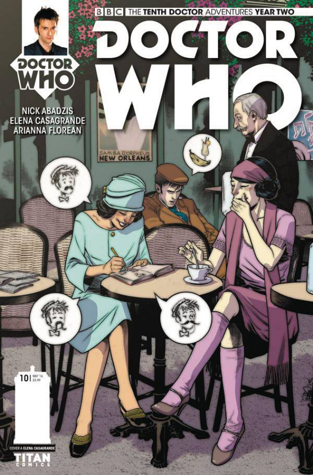 Doctor Who: New Adventures with the Tenth Doctor, Year Two #10 (Casagrande Cover)