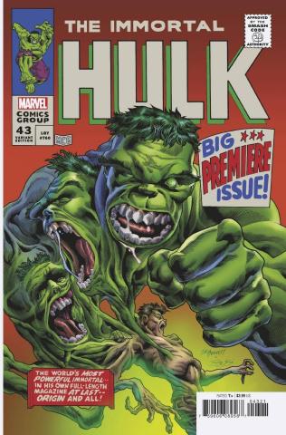 The Immortal Hulk #43 (Bennett Homage Cover)