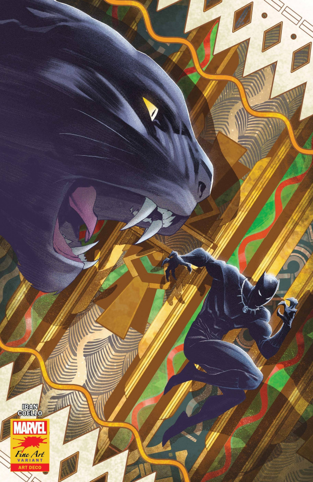 Black Panther #25 (Coello Stormbreakers Cover)