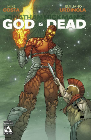 God Is Dead #26 (End of Days Cover)