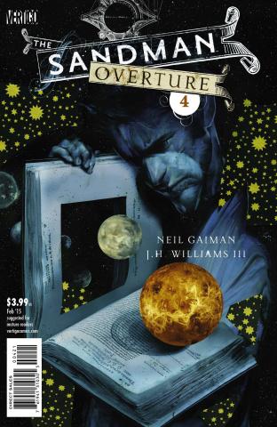 The Sandman: Overture #4 (Cover B)