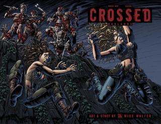 Crossed: Badlands #84 (Wrap Cover)