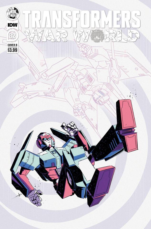 The Transformers #32 (Josh Burcham Cover)