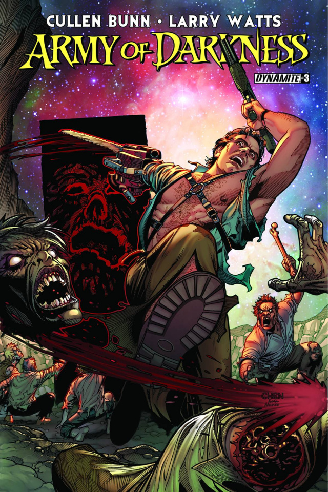 Army of Darkness #3 (Chen Cover)